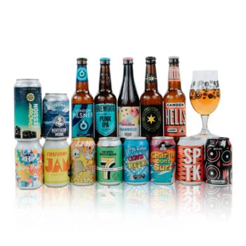 A perfect starter pack from the best British Craft Beer breweries featuring different, modern beer styles such as Session IPA, Lager, Pale Ale.