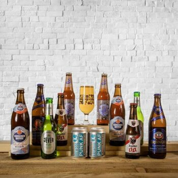 Introducing Beer Hunters alcohol free beer mixed case featuring some of the finest none alcoholic beverages inc. lager, wheat beer & pale ale styles.