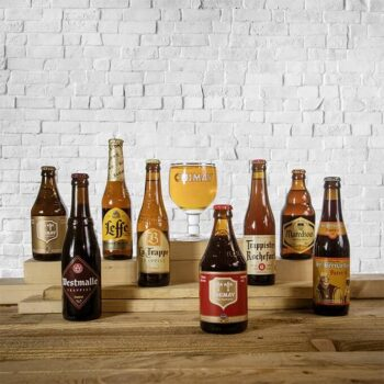 B8 brilliant Trappist Ales from Belgium to introduce you to the diverse world of trappist craft beer. From some of the finest breweries in Belgium.