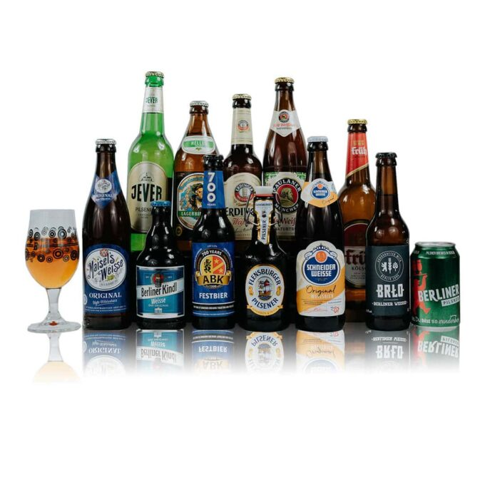 Perfect starter pack for those interested in trying a wide variety of different, modern beer styles from some of the finest German Breweries.