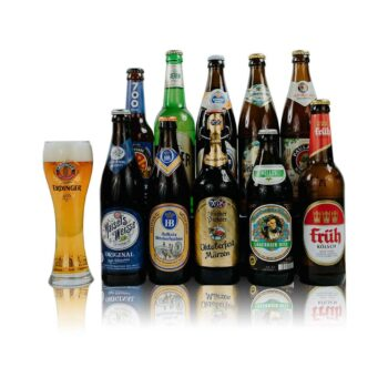 Oktoberfest German Craft Beer Mixed Case with Official Branded BeerHunter Glass (10 Pack)