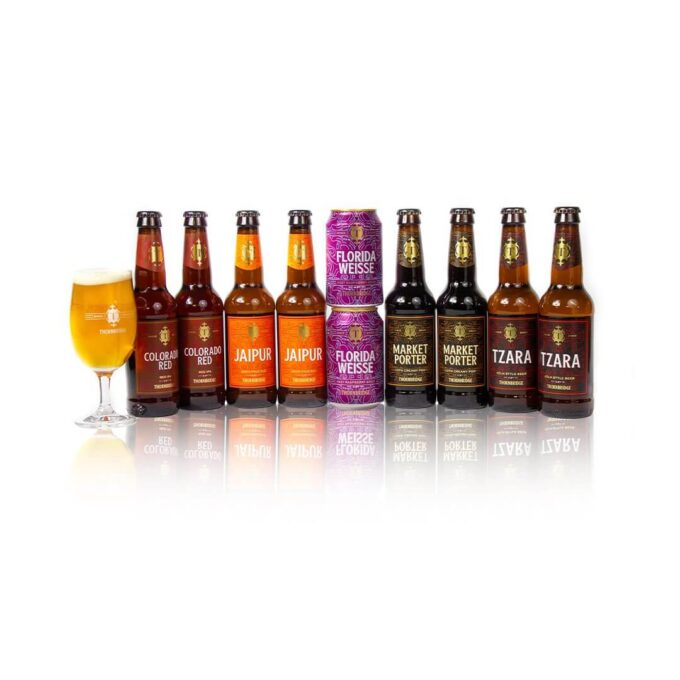 This superb mixed case contains 10 carefully selected beers from award winning Thornbridge Brewery with a range of styles and flavours that will cater for any beer lovers preferences. Treat your loved one and introduce them to their new favourite beer or indulge yourself on this delicious selection of Beer.