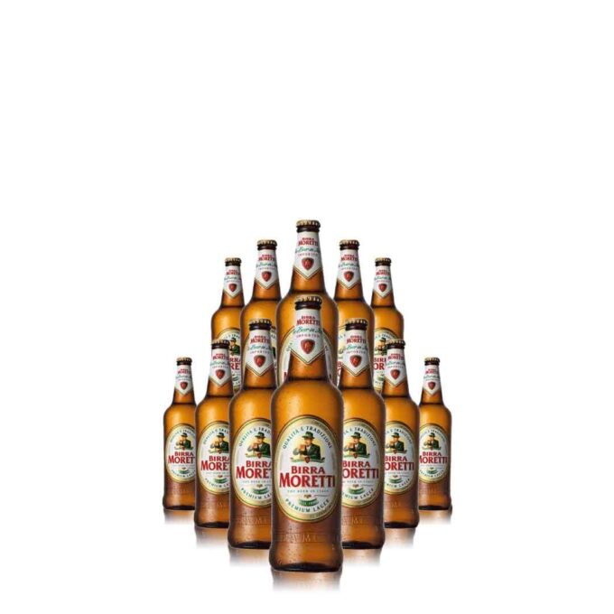 Birra Moretti Bottle (12 Pack) 2