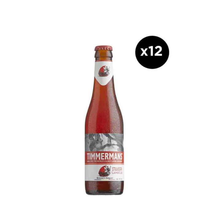 Timmermans Strawberry (12 Pack)