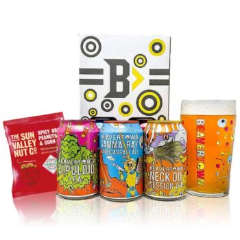 Beavertown Brewery Gift Set with Official Skull Pint Glass