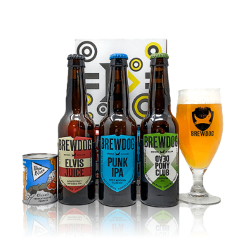 brewdog Gift pack with Brewdog glass