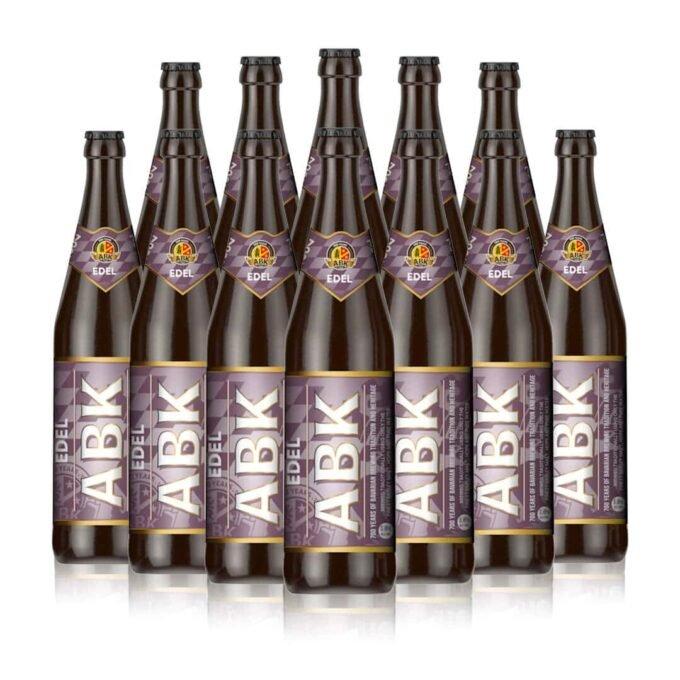 ABK Edel German Beer 500ml Bottles (12 Pack)