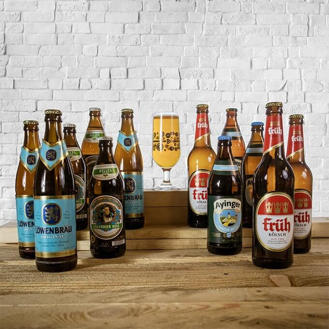 These 4 lagers from some of the finest and most popular breweries Germany has to offer. The perfect beer case for those who love a German lager.