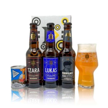 Thornbridge are one of the leading breweries in the UKs craft beer scene. This mixed gift pack is a perfect intro to the trailblazing brewery.