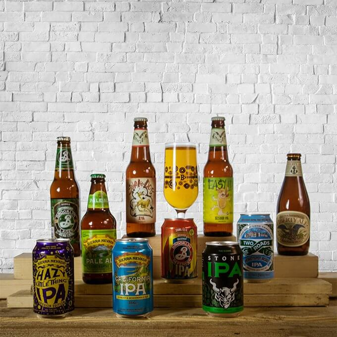 Perfect starter pack for those interested in trying a wide variety of different, modern beer styles from some of the finest American breweries.