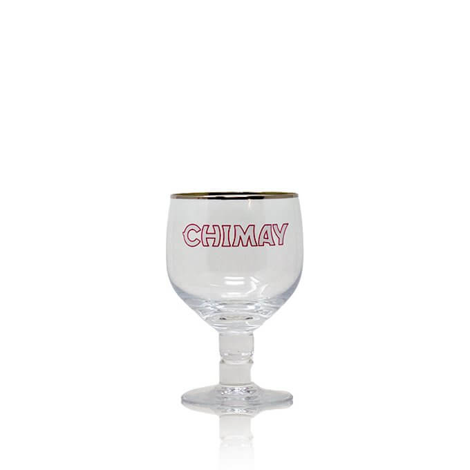 Official Chimay chalice glass, perfect for drinking your favourite Belgian beer. What better way to drink Chimay than with the Chimay Chalice Glass?