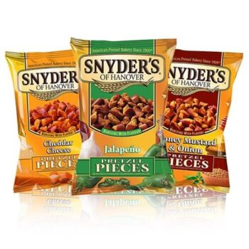 Snyder's have been creating pretzel pieces for over 100 years so that's how you know they're that good. These are going to leave you wanting more.
