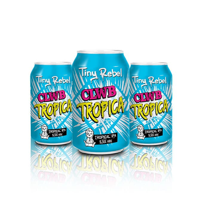 The UK's Favourite Tropical IPA. TIny Rebel use of American hops has lead to one hell of a juicy flavour it's all in there!
