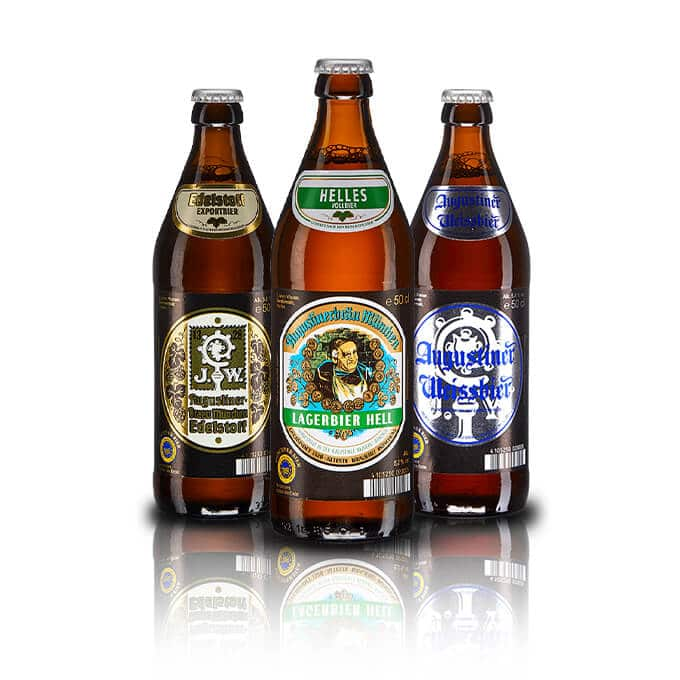 If you like Augustiner you'll have a lot of fun trying all the different styles on offer. With the Original Helles, Hefe Weissbier & Edelstoff Lager.
