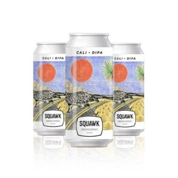 Squawk Cali DIPA is Pineapple and mango upfront, lemon acidity gambols with the alcoholic bouquet. Squawk Cali DIPA is an intense tropical fruit hit.