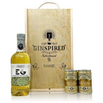 Personalised Edinburgh Elderflower With Tonics