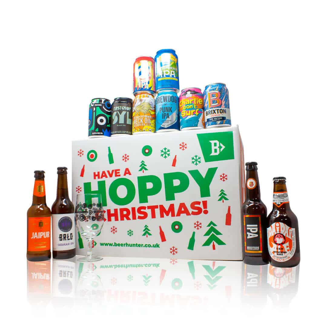 What better way to kick start the festive season than by celebrating with our 12 IPA Craft Beer of Christmas Gift Set.