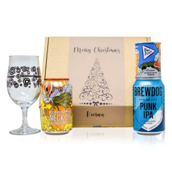 Help your loved one or friend discover their new favourite craft beer with this personalised Christmas gift pack.
