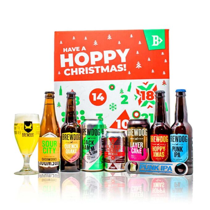 Our one of a kind Brewdog Advent Calendar is packed full of incredible beers. from IPA's, Blondes, Pale Ales, Lagers & Seasonal Specials.