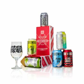 This Brewdog Christmas Can-dy Cane contains six craft beers from Brewdog. Of all different styles and flavours.