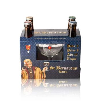 St. Bernardus Pater 6 St. Bernardus beers have been brewed in the St. Bernardus brewery since 1946 making only Dark and Blond...