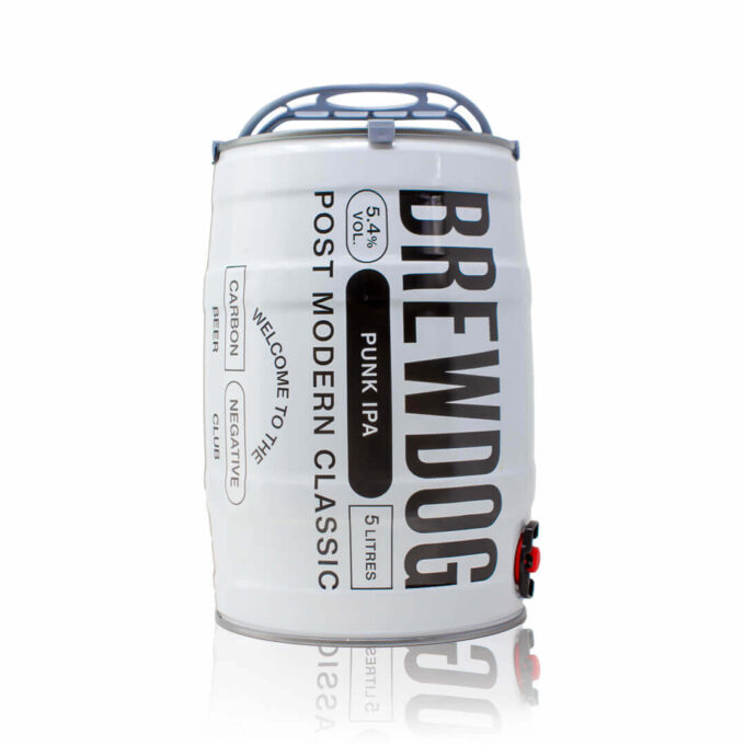 Enjoy this Brewdog Punk IPA Mini Keg from your comfort of your own home for a perfect pour. This light, golden classic...