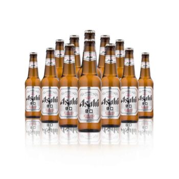 Asahi Super Dry flavour is described as 'Arakuchi'. How Asahi's authentic Japanese beer is dry with a quick, refreshingly clean finish.