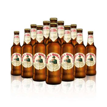 The ultimate Italian lager, Birra Moretti is a special blend of high quality hops creates a smooth, full bodied beer.