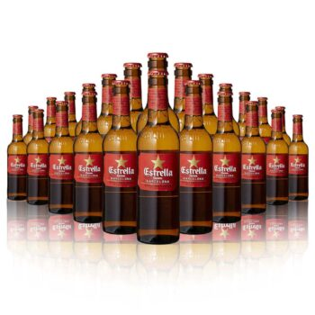 Estrella Damm have been brewing in Barcelona with Mediterranean ingredients since 1876. These Estrella Damm Beers are collectively...