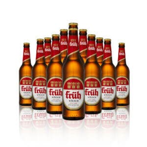 Früh Kölsch German Lager 500ml Bottles. A local beer to the Cologne region Früh Kölsch is packed with refreshing flavours that is...