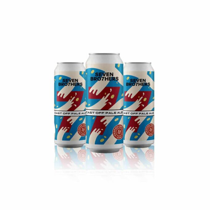 Seven Bro7hers Cast of Pale Ale is made in unison with Kellogg's using their Rice Krispies, this refreshing beer has a light, sweet finish.