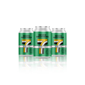 Seven Bro7her Easy IPA is a classic IPA, crisp, aromatic and pale ale with pineapple and satsuma notes and a long lasting bitter taste.