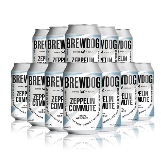 Brewdog Zeppelin Commute Hoppy Weissbier - 4.5% ABV (12 Pack)