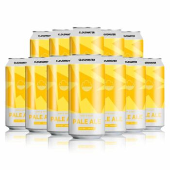 Cloudwater Brewing Co. Pale Ale 3.7% ABV 440ml Cans (12 Pack)