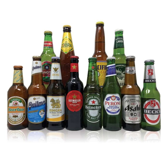 Round the World Premium Lager Mixed Case (12 Pack)