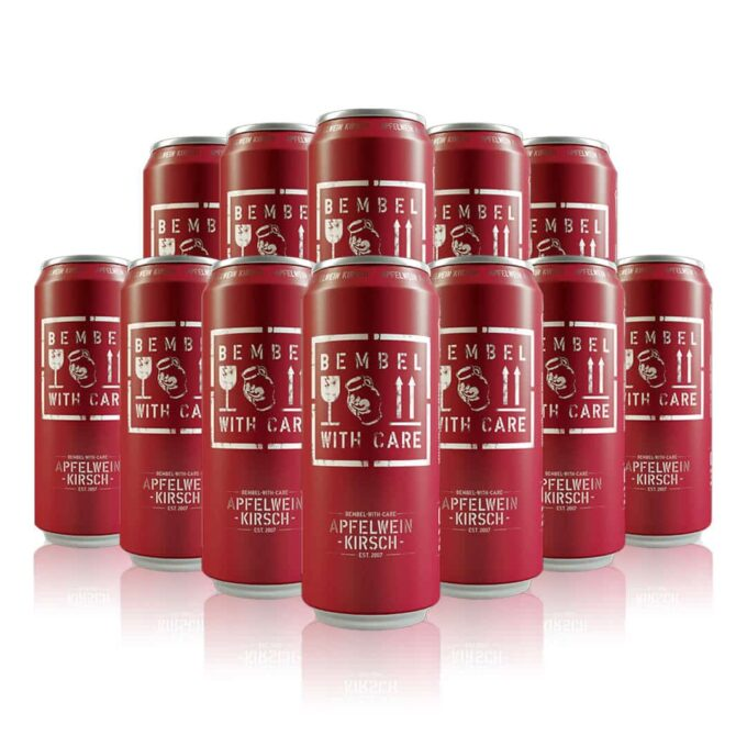 Bembel with Care Apfelwein Cherry Cider 500ml Cans (12 Pack)