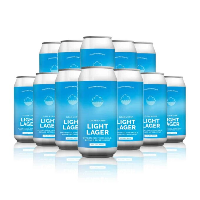 Cloudwater Light Lager (12 Pack)