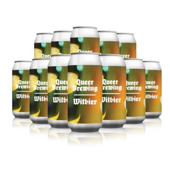 Cloudwater Queer Brewing Flowers Witbier (12 Pack)