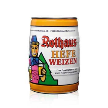 Rothaus German Hefeweizen Wheat Beer 5Ltr Mini Keg, the incredible Rothaus Hefeweizen Wheat Beer is a beer with a cult following.