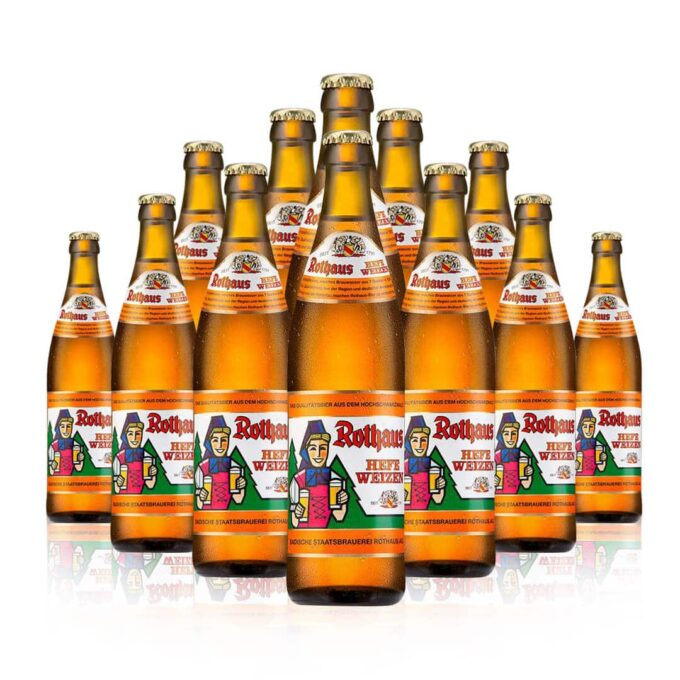 Rothaus Hefeweizen is a beer with a cult following.Firstly it is a world-renowned, top-fermented wheat beer from South-West Germany.
