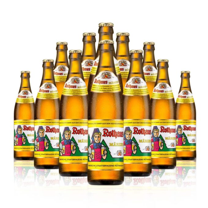 Rothaus Märzen is a beer with a cult following. It is a mildly hopped Märzen with a prominent malty profile.