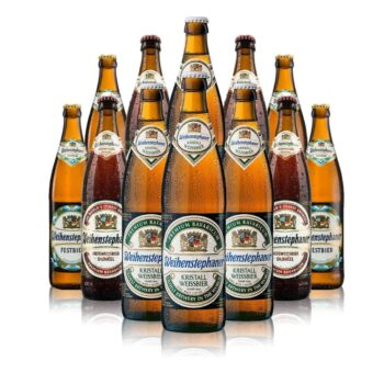 Weihenstephaner German Wheat Beer Mixed Case (12 Pack)