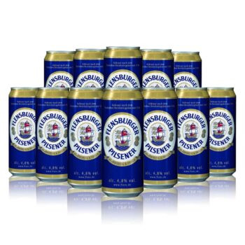 Flensburger Pilsner 500ml Cans (12 Pack)