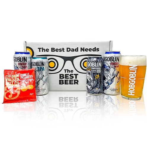 The world's best Dads deserve the world's best beer, so we've pulled together this amazing Hobgoblin Real Ale gift that is guaranteed to put a smile on his face! With a quirky designed box to let your dad know who it's from, we say beers to all you lucky dads.