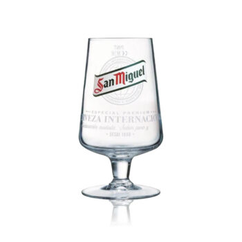 San Miguel Official Pint Glass