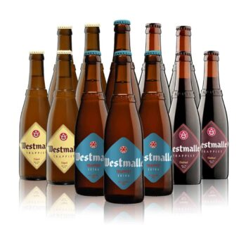 Westmalle Belgian Trappist Mixed Case 330ml Bottles (12 Pack)