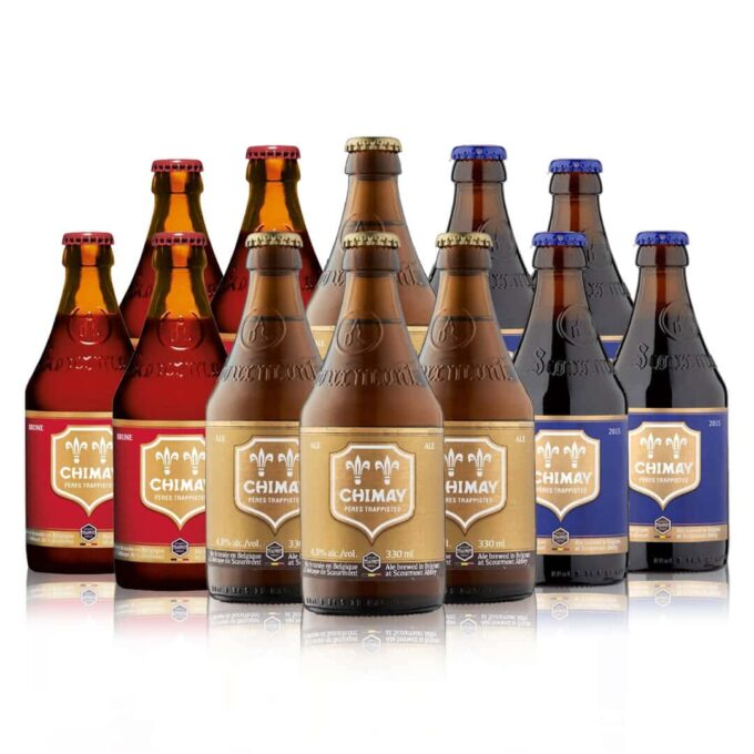 Chimay Belgian Trappist Beer Mixed Case (12 Pack)