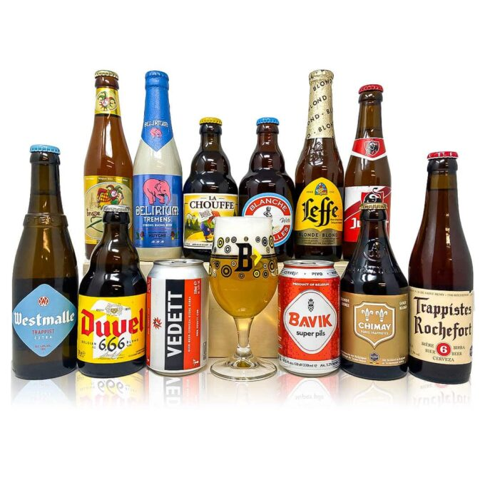 Discovery of Belgian Beer Mixed Case (12 Pack)