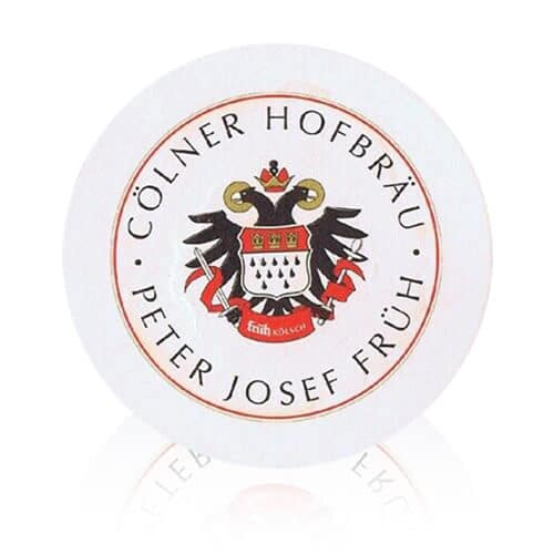 A local beer to the Cologne region Früh Kölsch is packed with refreshing flavours. These beer mats is perfect to pair with a Früh Kölsch.