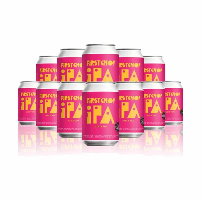 First Chop IPA Juicy IPA 330ml Cans - 5.0% ABV (12 Pack)